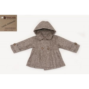 PLEATED KIDS COAT ABCP02