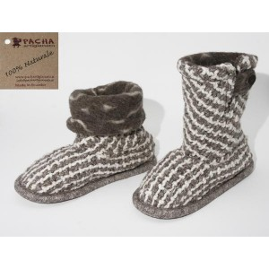WEFT-KNITTED SLIPPERS CPT02
