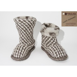 WEFT-KNITTED SLIPPERS CPT04