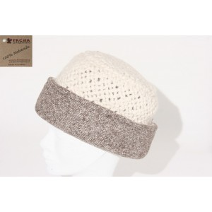 WEFT-KNITTED BONNET DOUBLE FACE ACD02
