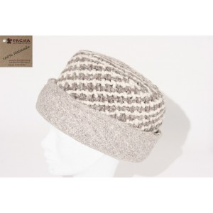 WEFT-KNITTED BONNET DOUBLE FACE ACD03