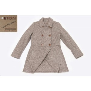 THE SERGEANT COAT, MIXED FABRIC