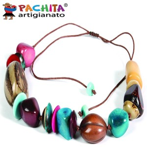 NECKLACE IN TAGUA TCL045