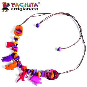 NECKLACE IN TAGUA TCL046