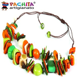 NECKLACE IN TAGUA TCL048