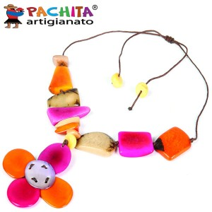 NECKLACE IN TAGUA TCL049