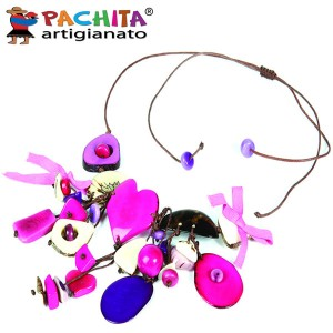 NECKLACE IN TAGUA TCL050