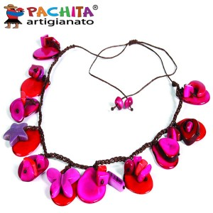 NECKLACE IN TAGUA TCL055
