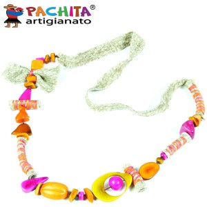 NECKLACE IN TAGUA TCL058A