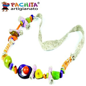 NECKLACE IN TAGUA TCL058B