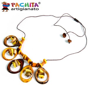 NECKLACE IN TAGUA TCL005