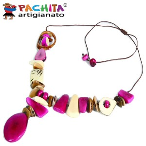 NECKLACE IN TAGUA TCL007