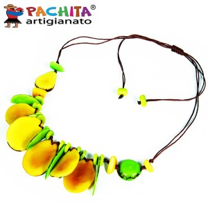 NECKLACE IN TAGUA TCL009