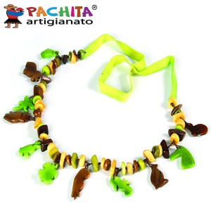 NECKLACE IN TAGUA TCL011