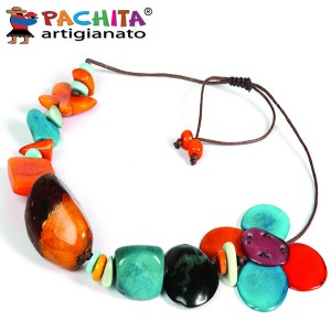NECKLACE IN TAGUA TCL014B