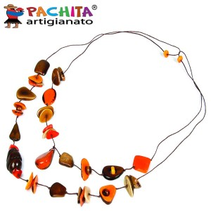 NECKLACE IN TAGUA TCL017