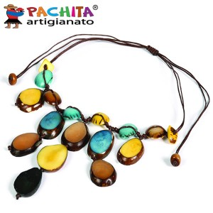 NECKLACE IN TAGUA TCL022