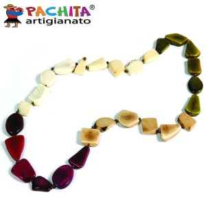NECKLACE IN TAGUA TCL023