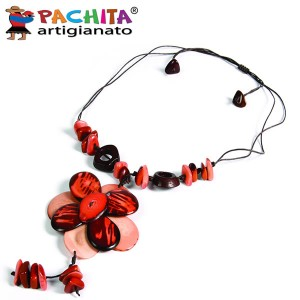 NECKLACE IN TAGUA TCL024