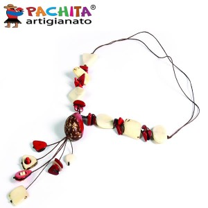 NECKLACE IN TAGUA TCL025