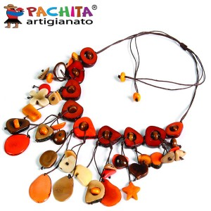 NECKLACE IN TAGUA TCL026
