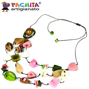 NECKLACE IN TAGUA TCL028
