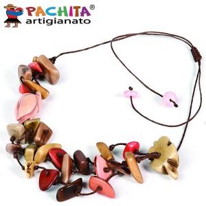 NECKLACE IN TAGUA TCL029