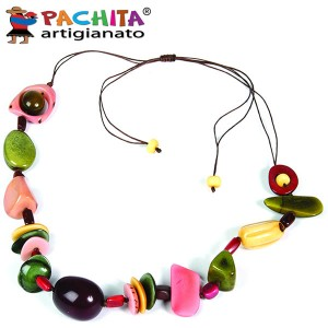 NECKLACE IN TAGUA TCL030