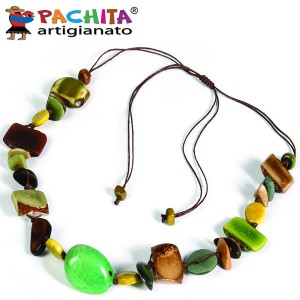 NECKLACE IN TAGUA TCL031