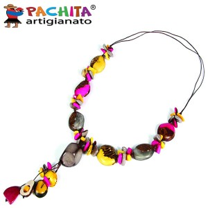 NECKLACE IN TAGUA TCL037
