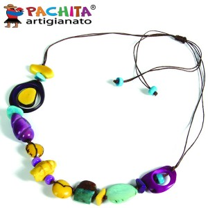NECKLACE IN TAGUA TCL038