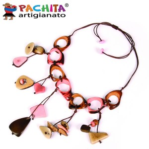 NECKLACE IN TAGUA TCL039