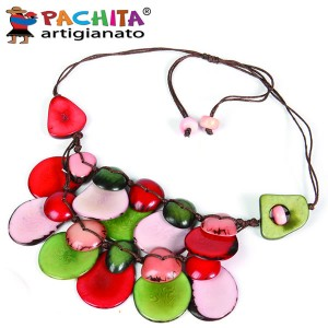 NECKLACE IN TAGUA TCL040
