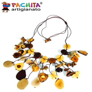 NECKLACE IN TAGUA TCL042