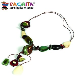 NECKLACE IN TAGUA TCL043