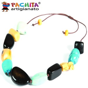NECKLACE IN TAGUA TCL044