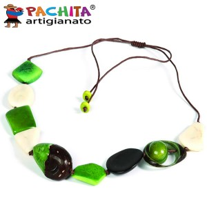 NECKLACE IN TAGUA TCL001