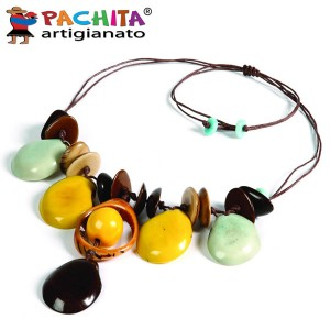 NECKLACE IN TAGUA TCL002